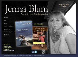 Jenna Blum's author website